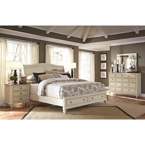 Aspenhome Cottonwood King Bedroom Group 2
