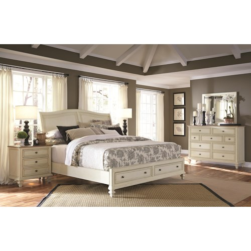 Aspenhome Cottonwood Queen Bedroom Group 2