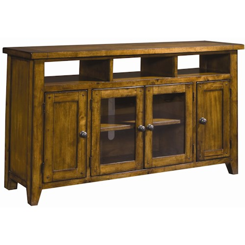 Aspenhome Cross Country TV Console with Storage