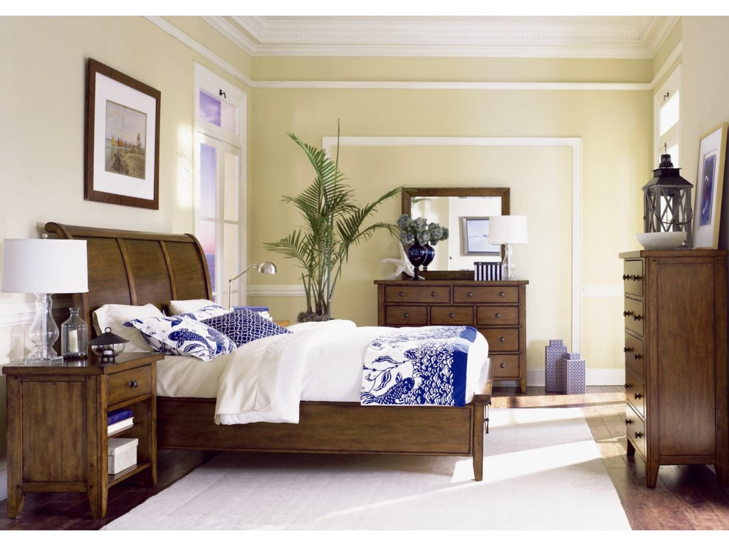 Shown with Nightstand, Chesser, Mirror, and Chest - Bed Shown May Not Represent Size Indicated