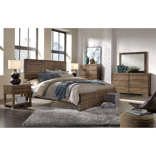 Aspenhome Dimensions California King Bedroom Group