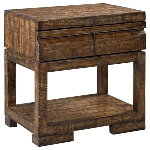 Aspenhome Dimensions 1 Drawer Nightstand with Shelf