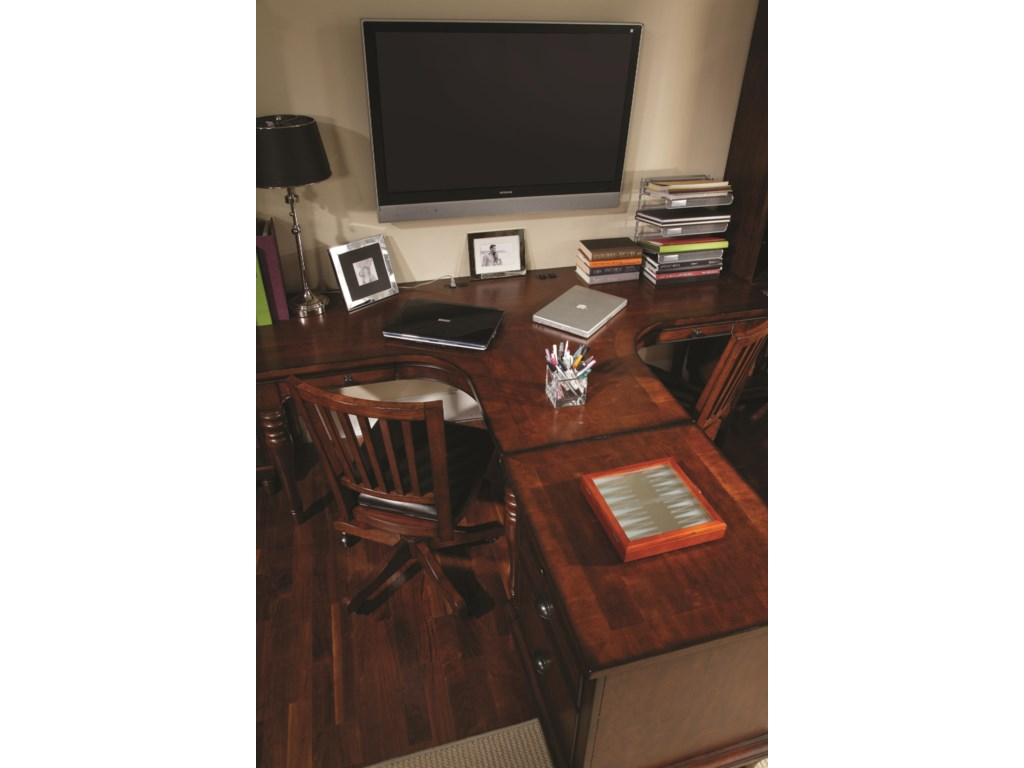 Shown with Dual T Desk and Office Chairs