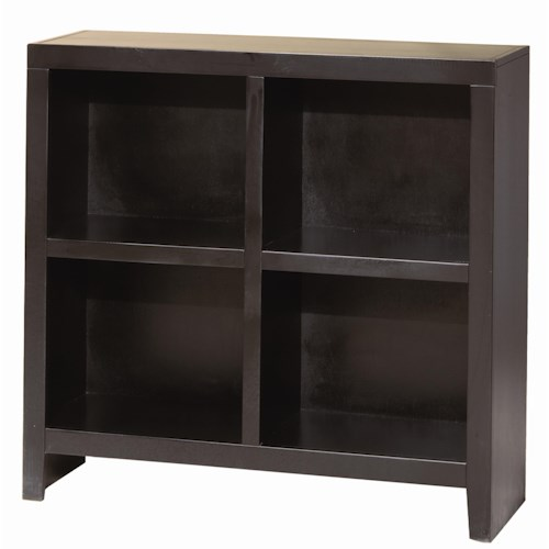 Morris Home Furnishings Essentials Lifestyle 38 Inch Cube Bookcase