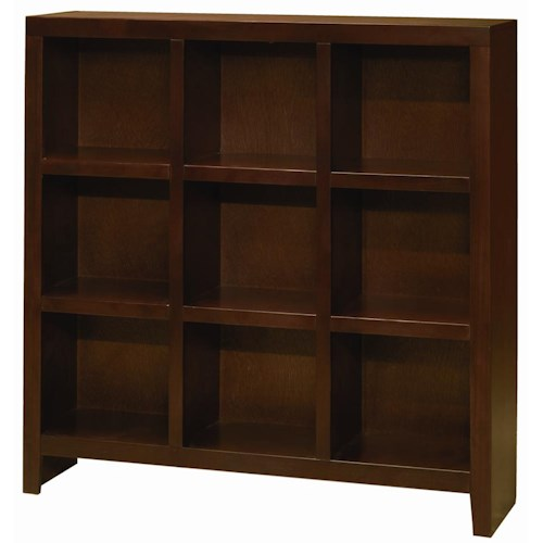 Morris Home Furnishings Essentials Lifestyle 49 By 49 Inch Cube Bookcase