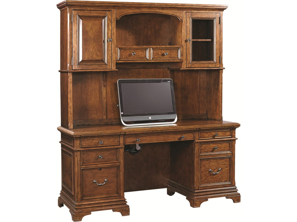 Desk and Hutch Shown May Not Represent Size Indicated