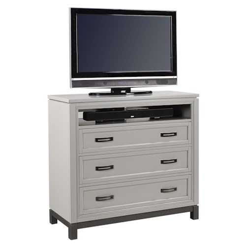Aspenhome Hyde Park Three Drawer Entertainment Chest