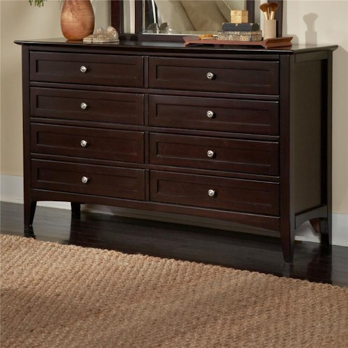 Morris Home Furnishings Kensington  Double Dresser with Drawers