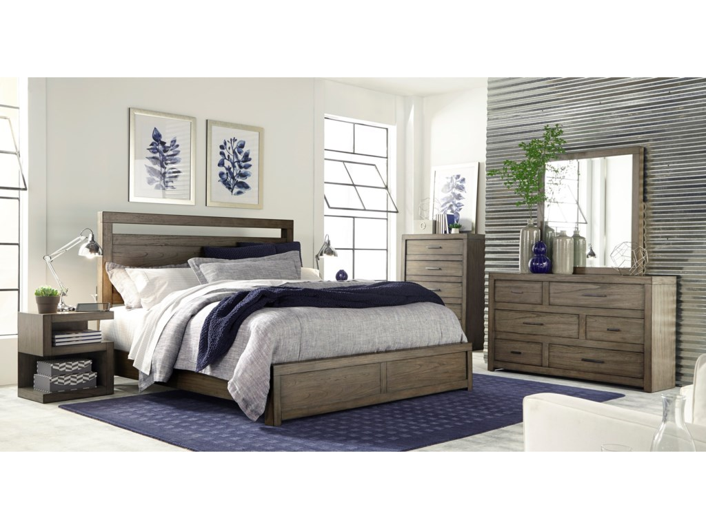 Morris Bedroom Furniture Moreno Queen Panel Bed With Usb Charging Outlets Morris Home
