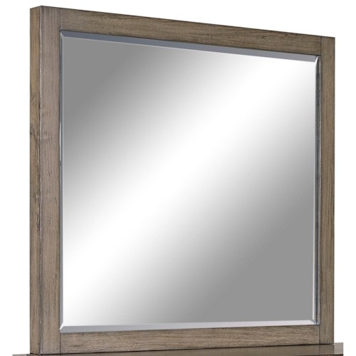 Morris Home Furnishings Moreno Mirror with Beveled Glass