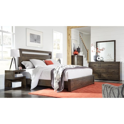 Morris Home Furnishings Moreno King Bedroom Group