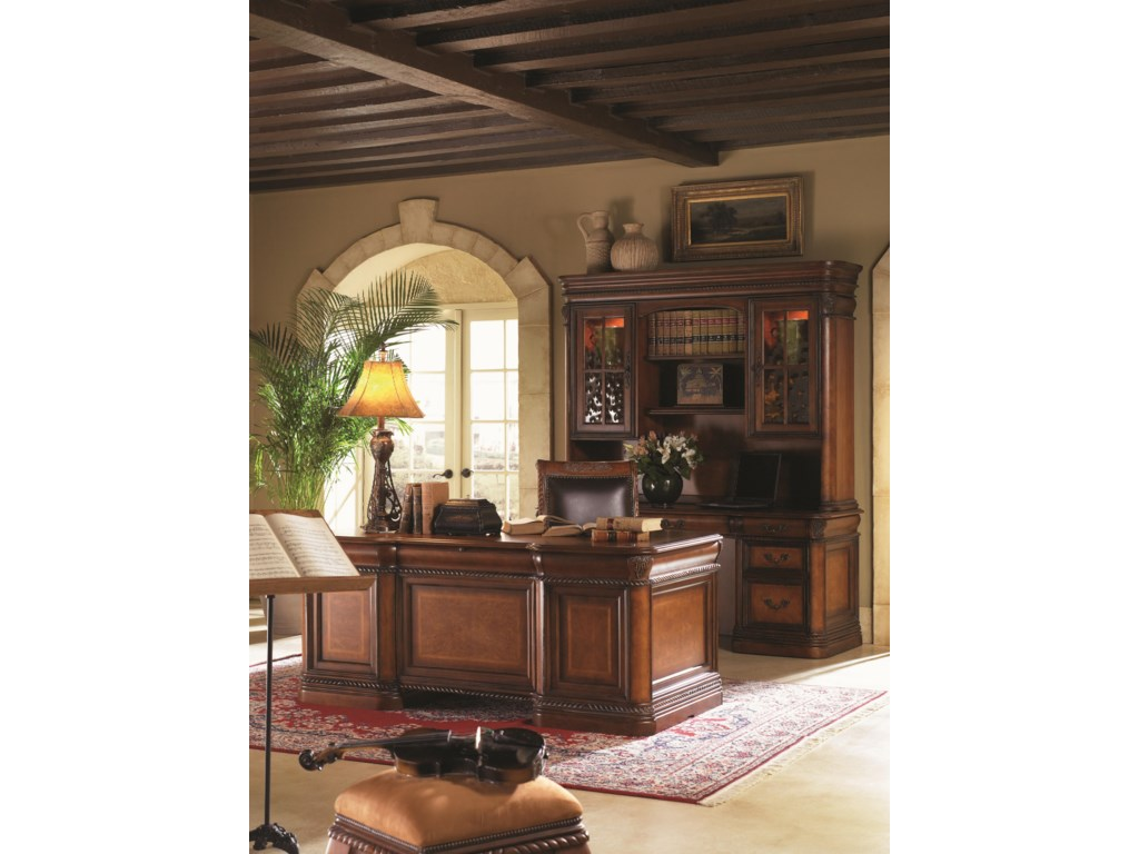 Shown with Credenza Hutch, Office Chair and Executive Desk