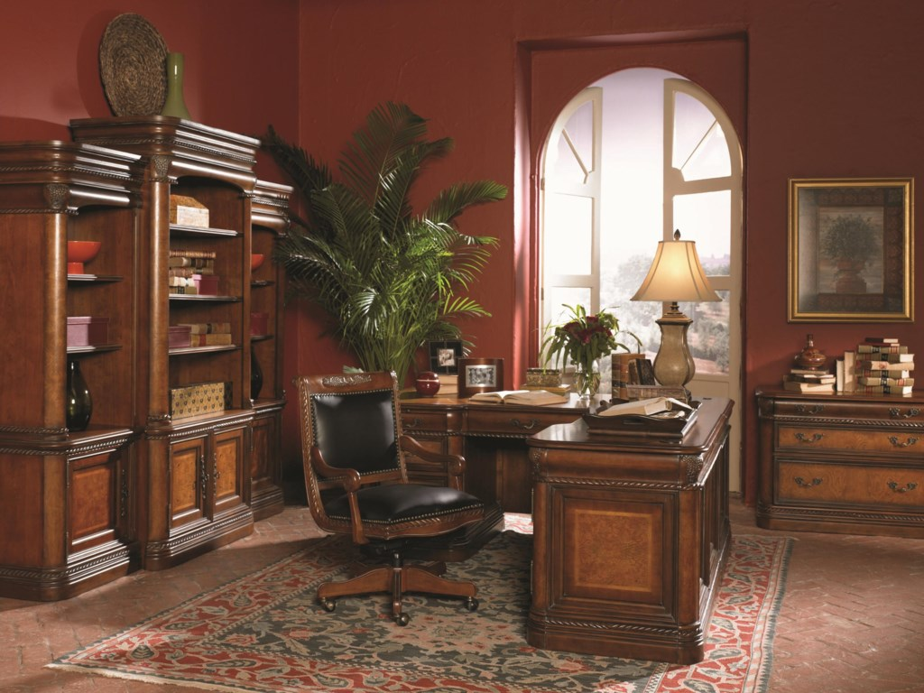 Shown with Bookcase Wall Unit, L-Shaped Desk and Office Chair