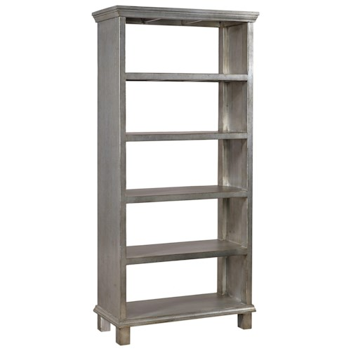 Aspenhome Preferences Room Divider with 5 Fixed Shelves