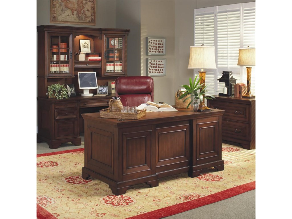 Shown with Credenza Desk and Hutch and Lateral File