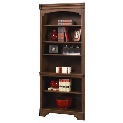 Aspenhome Richmond Bookcase with Open Shelves