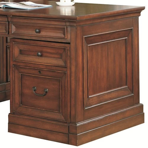 Aspenhome Richmond 3 Drawer Unit with Locking File Drawer