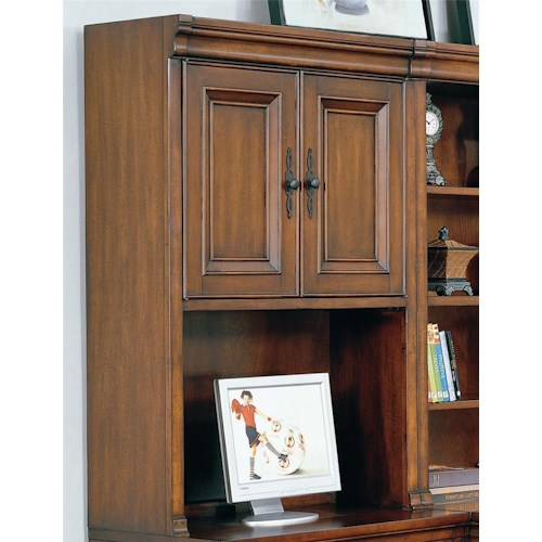 Morris Home Furnishings Richmond Hutch with Doors