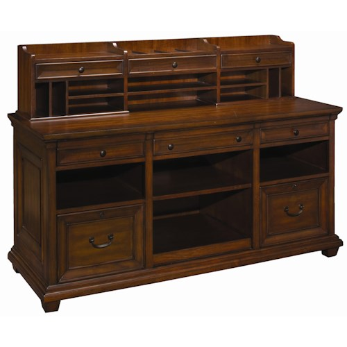 Aspenhome Richmond 64-Inch Credenza & Hutch
