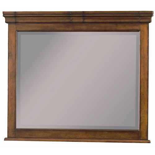 Morris Home Furnishings Richmond Landscape Dresser Mirror