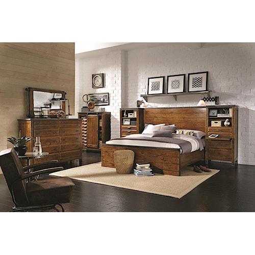 Morris Home Furnishings Rockland King Bedroom Group