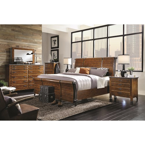 Morris Home Furnishings Rockland Queen Bedroom Group