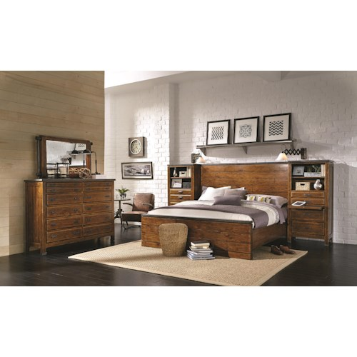 Morris Home Furnishings Rockland California King Bedroom Group