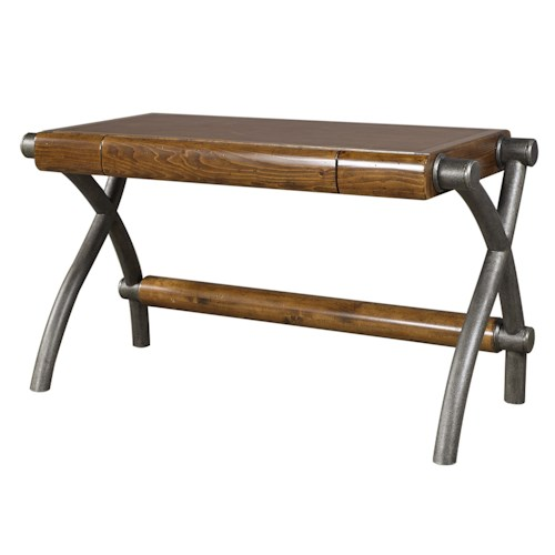 Morris Home Furnishings Rockland Writing Desk with One Drawer