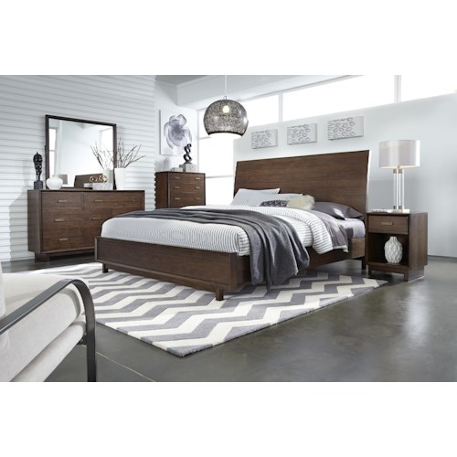 Aspenhome Walnut Heights California King Bedroom Group 1
