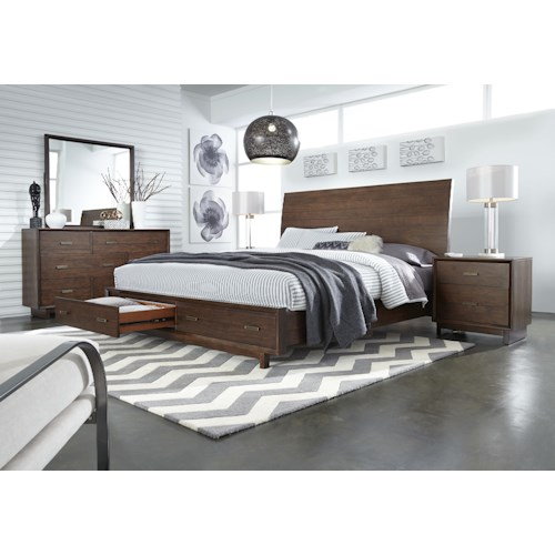 Aspenhome Walnut Heights California King Bedroom Group 2
