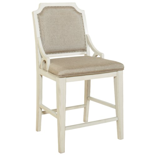 Avalon Furniture Mystic Cay Gathering Chair With Upholstered Seat And Back Pilgrim Furniture