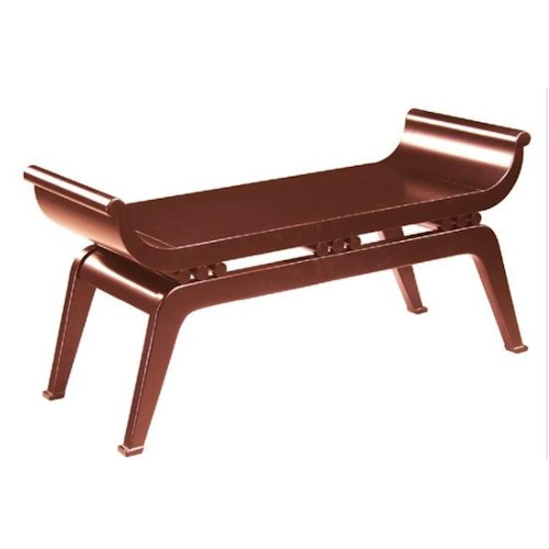 Bailey Street Accents Oriental Styled Dynasty Bench