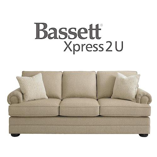 Bassett Hyde Park Queen Sleeper Sofa