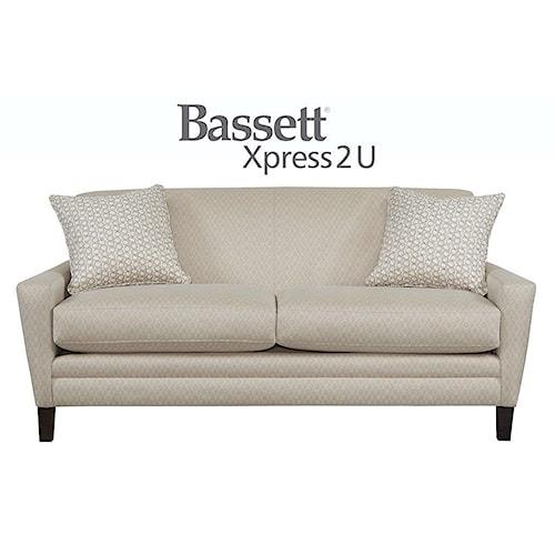 Bassett Drake Custom Order Studio Sofa