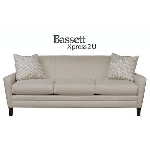 Bassett Drake Custom Order Sofa