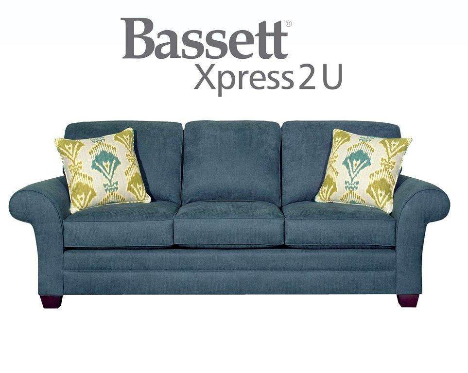 Bassett Brooke Custom Order Sofa - Great American Home Store - Sofa