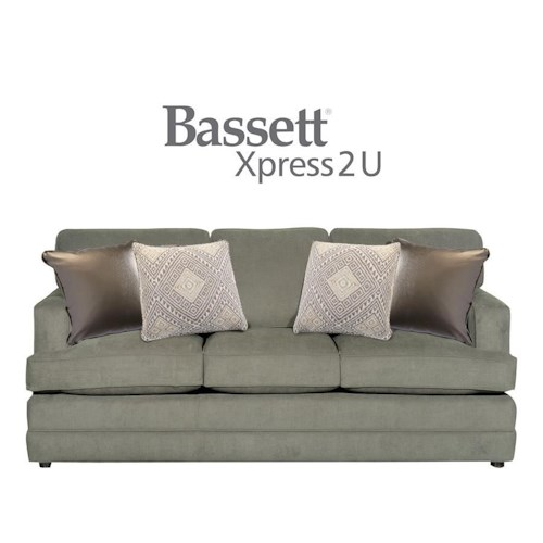 Bassett Dalton Custom Order Queen Sofa Sleeper