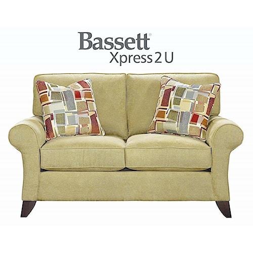 Bassett Tyson Custom Order Loveseat