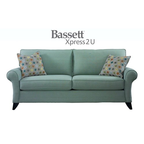 Bassett Tyson Custom Order Queen Sofa Sleeper