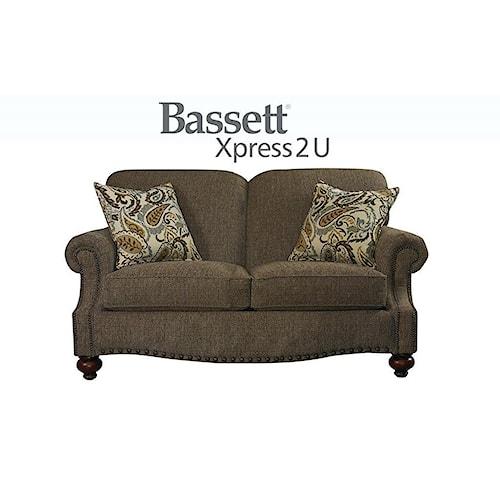Bassett Club Room Loveseat