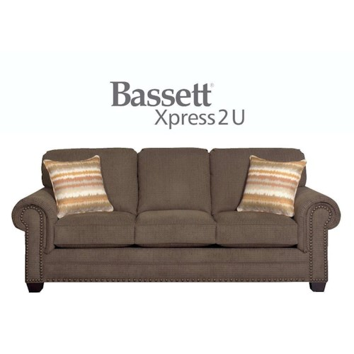 Bassett Riverton Custom Order Queen Sleeper