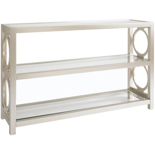 Bassett Fountain Bleu Special Order Console Table