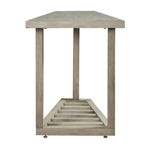 Bassett Lincoln Park Special Order Chairside Wedge Table