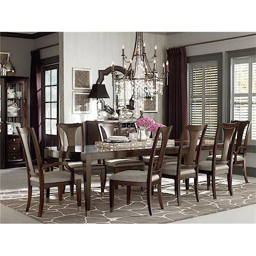 Bassett Cosmopolitan 7Pc Dining Room