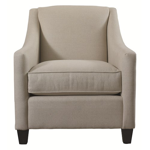 Bassett Accent Chairs Corina Accent Chair with Casual Style