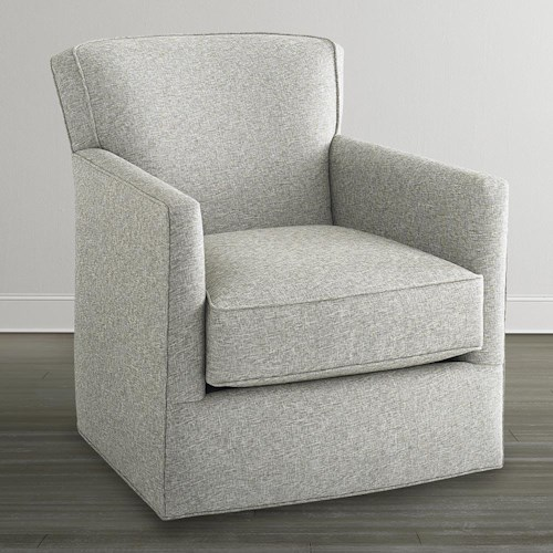 Bassett Accent Chairs by Bassett American Living Swivel Chair