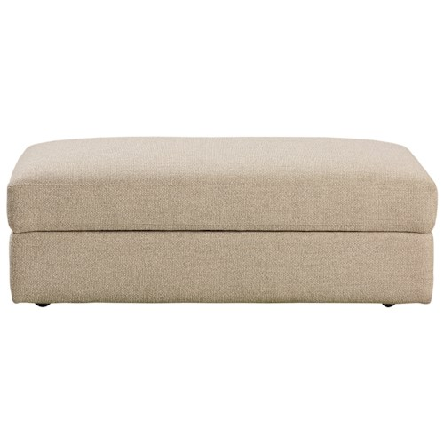 Bassett Allure 2611 by Bassett Contemporary Storage Ottoman