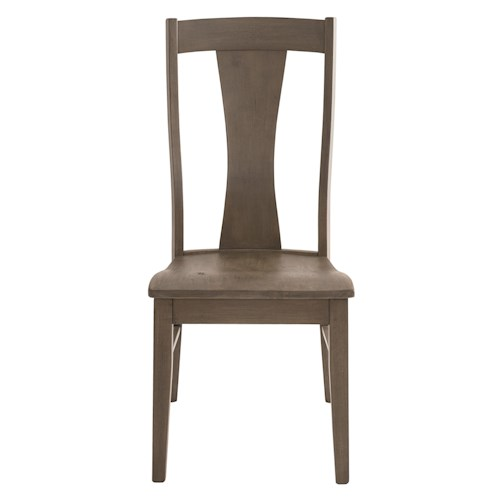 Bassett Bench Made Boone Transitional Side Chair