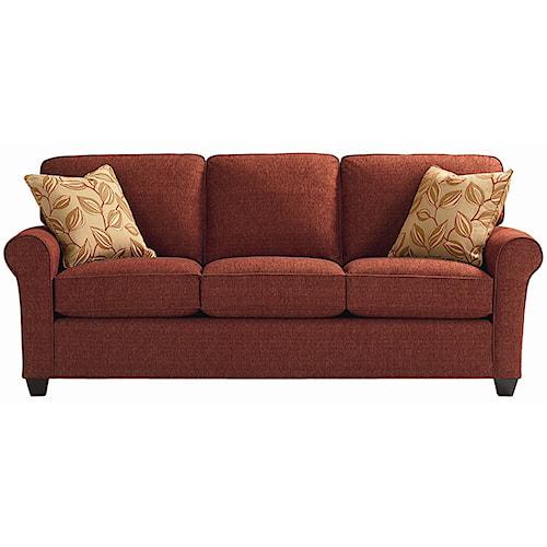 Bassett Brewster Upholstered Stationary Sofa
