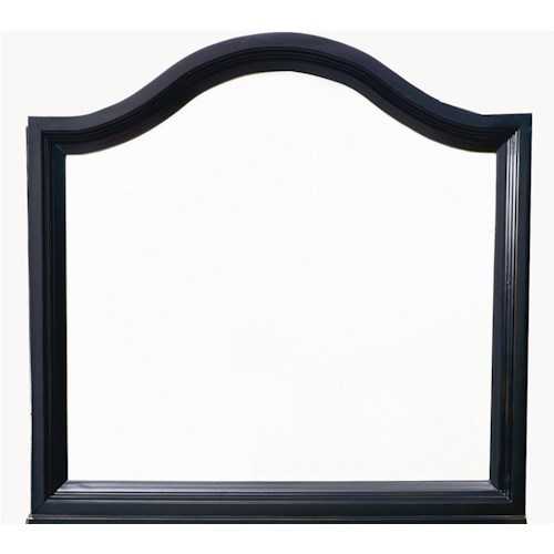 Bassett Chatham Traditional Arched Landscape Mirror